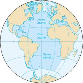 atlas okyanusu