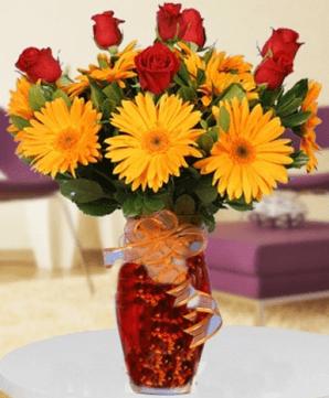 Hastaya alınabilecek çiçek örneği
