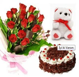 Doğum günü çiçeği örneği